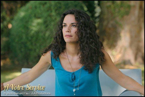 """Barbara Cabrita, pour le film """" A votre service """""""