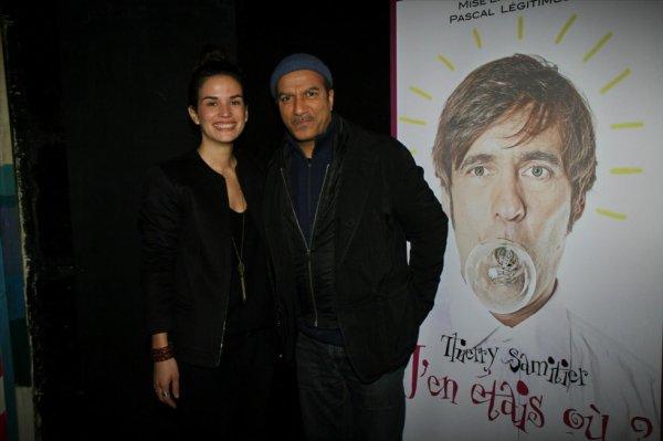Barbara Cabrita et Pascal Legitimus