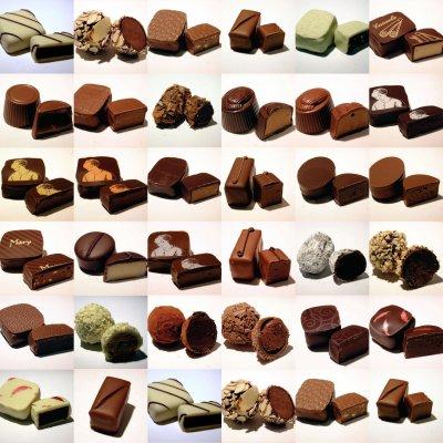 La Vie c'est comme une boite de chocolat : on ne sait jamais sur quoi on va tomber..