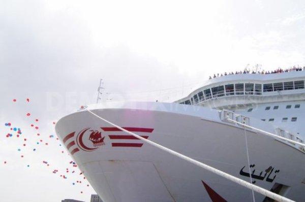 Le nouveau Car-ferry « TANIT »