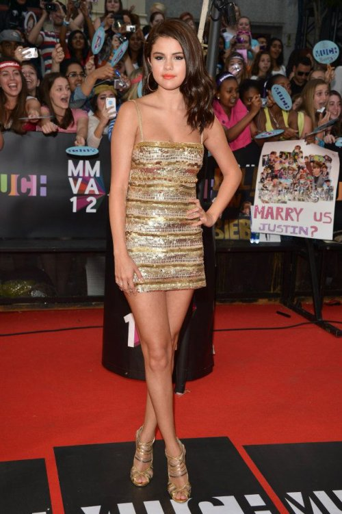Selena Gomez au Much Music Awards 2012