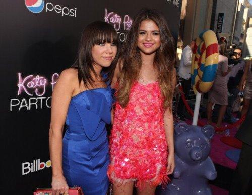 Selena à l'avant premiére du film de Katy Perry