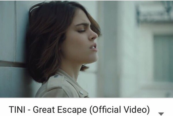 Great escape de Tini ;)