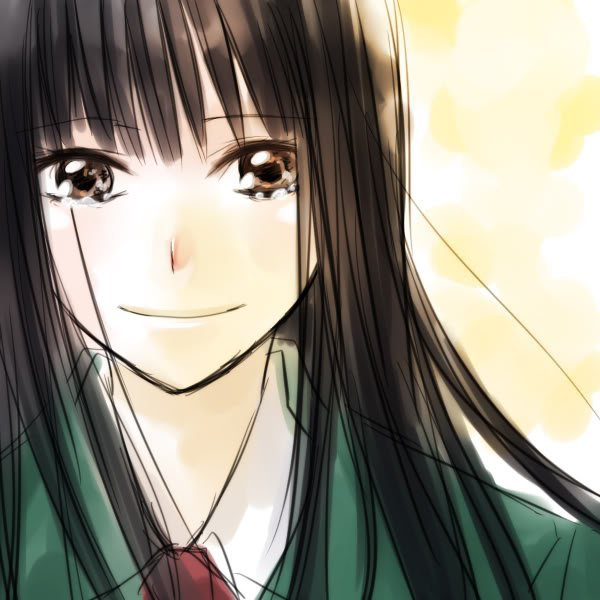 Derrière chacun de mes sourires se cache une larme! Derrière chacun de mes rires se cache un sanglot.  Ne voyez-vous rien?    Ne voyez-vous pas la tristesse dans mes yeux quand je me force à sourires pour vous faire plaisir?