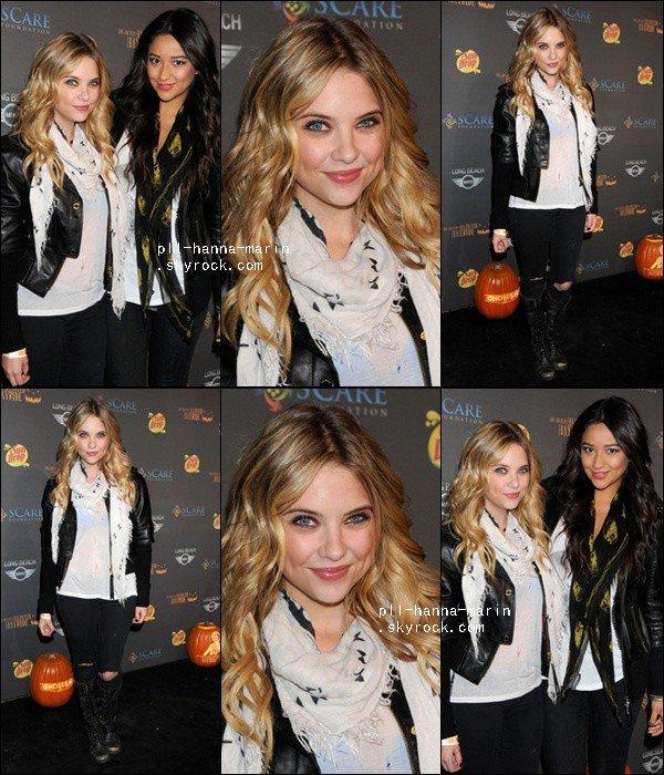 11 Octobre : Ash et des amis dont Shay etaient a une soirée hantée au parc Griffith à L.A.