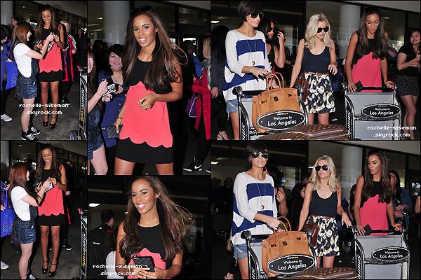 . 12/02/12 : - En avant pour Los Angeles ! -Les filles, sans Una, ont été vues arrivant à l'aéroport de Los Angeles. Elles ont étéaccueilliespar quelques fans, et elles étaient vraiment très jolies surtout Mollie et Rochelle, pour mon avis perso. .