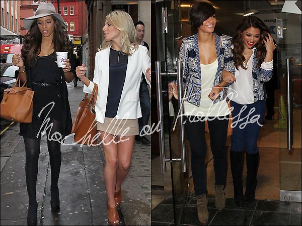 . 10/05/12 : Rochelle, Mollie, Vanessa, Frankie se sont rendues à la radio Kiss FM à Londres je ne sais pourquoi. Pour moi, Rochelle était vraiment très belle lors de cette sortie, tout comme Mollie, Frankie et Nessa qui étaient splendides.♥ .