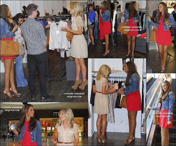 . 14/02/12 : Toujours aux Etats-Unis , les filles se sont accordées une petiteséanceshopping dans W Hollywood. La Californie , le soleil , Rochelle et Mollie ont donc fait le bon choix de la robe dans laquelle elles étaient vraiment parfaites. .