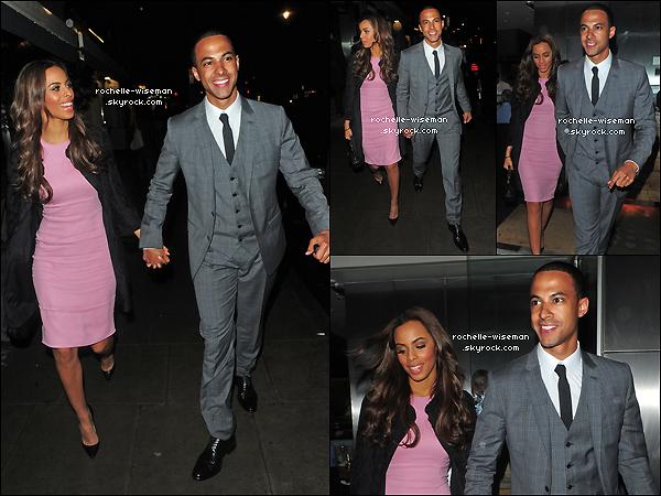 . 09/05/12 : Rochelle , toujours accompagnée de son fiancé Marvin Humes quittaient le restaurant « Rocha ». C'est un beau petit couple très élégant que nous retrouvons. Je trouve que cette robe rose bonbon lui va super très bien. .