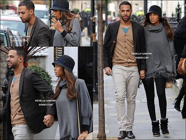 . 24/11/12 : Après de longs jours sans sortir , le beau couple de jeunes mariés a été vu dans la ville de Londres. C'est la première sortie de Rochelle depuis l'annonce disant qu'elle était enceinte et la première depuis presque 20jours. Top .