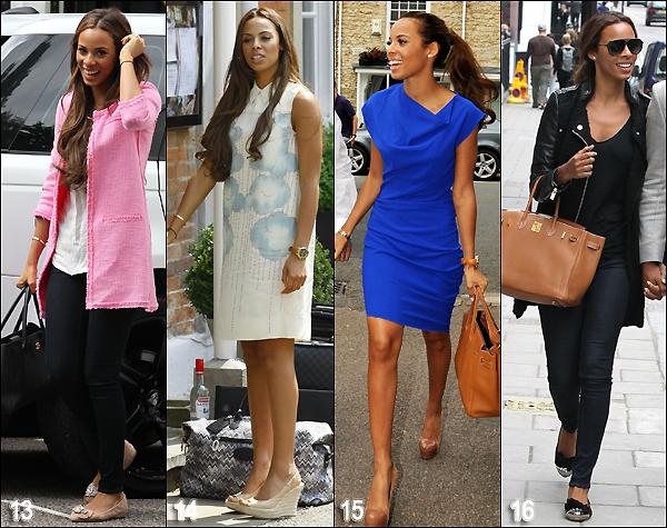 . Voici un récapitulatif de quelques tenues (candid) portées par Rochelle en 2012. Vote pour ta favorite au sondage. .