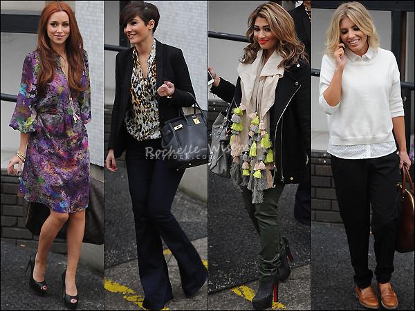 . 18/03/13 : Les filles quittaient les studios d'ITV après avoir enregistré les émissions DaybreaketLorraine, L. Vous pouvez d'ailleurs visionner les vidéos en dessous. Les filles étaient vraiment superbes surtout Una, je latrouve parfaite. .