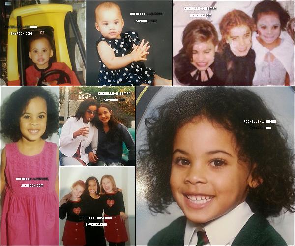 * ____________◆ Voici quelques photos de Rochelle, enfant...  *