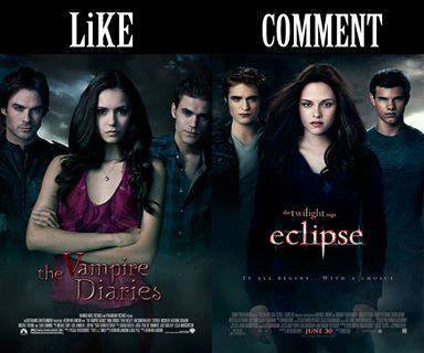 un kifff pour the vampire diaries ou commente pour TWILIGHT