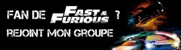 NEW [ LE GROUPE DES FANS DE FAST AND FURIOUS ]
