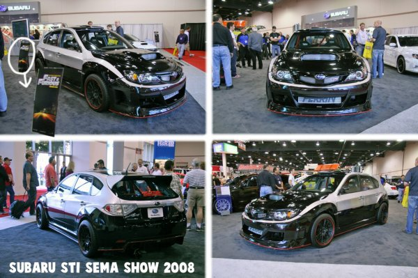 new la voiture de brian paul walker au sema show 2008 blog fast furious. Black Bedroom Furniture Sets. Home Design Ideas