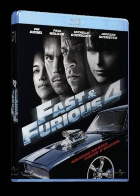 new sortie fast and furious 4 en dvd et blu ray blog fast furious. Black Bedroom Furniture Sets. Home Design Ideas