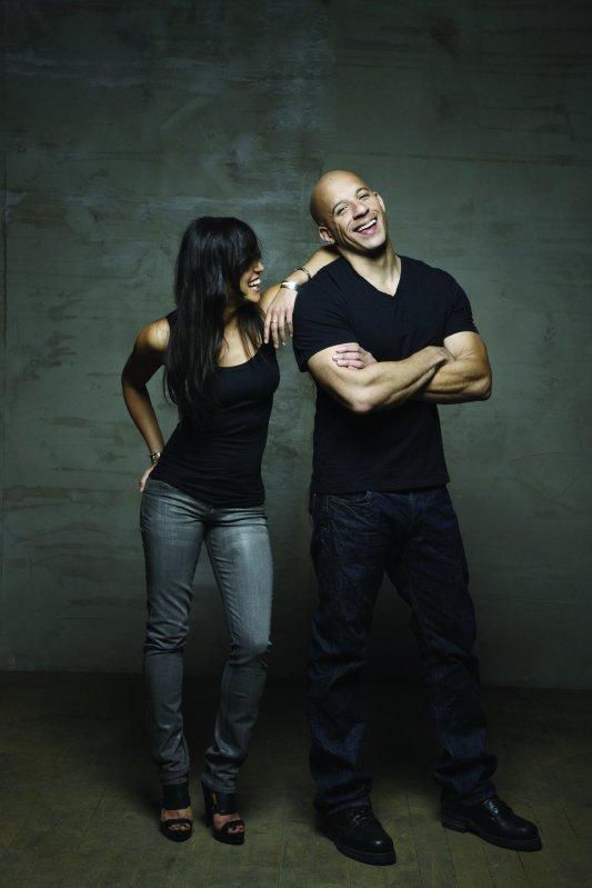 Photo Coup de coeur  : Michelle Rodriguez et Vin Diesel