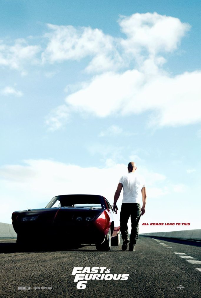 NEW FF6 [ Première affiche Teaser pour Fast and Furious 6 ! ]
