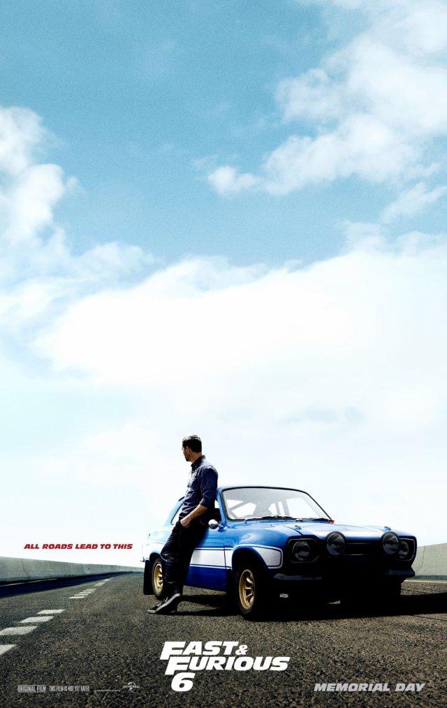 NEW FF6 [ Deuxième affiche Teaser pour Fast and Furious 6 ! ]