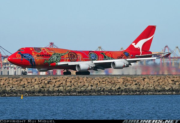 boeing 767 , boeing 747 et a 380 Qantas