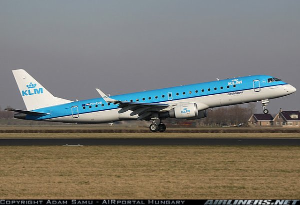Embraer ERJ-190 , MacDonnel Douglas MD11 et a 330 KLM