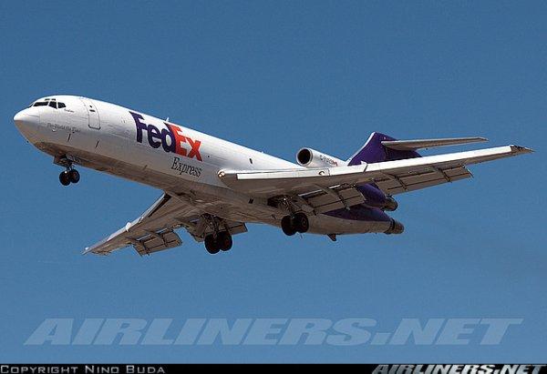 Boeing 727 , McDonnell Douglas DC-10 et a 310 fedex