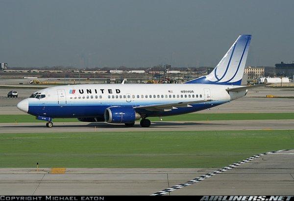 boeing 757 , boeing 737 et boeing 747 united