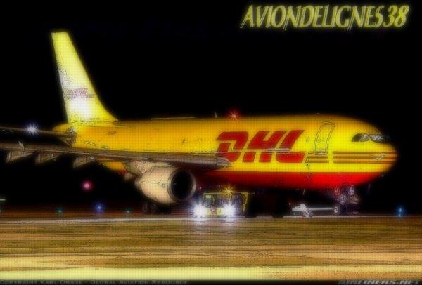 boeing 757 , boeing 727 et a 300 DHL