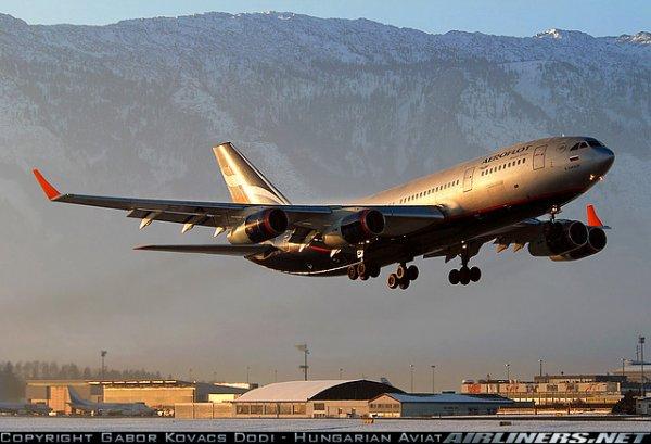 McDonnell Douglas MD-11F , Tupolev Tu-154M et Ilyushin Il-96-300 aeroflot