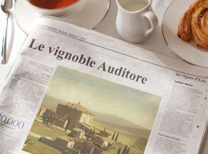 Le vignoble Auditore