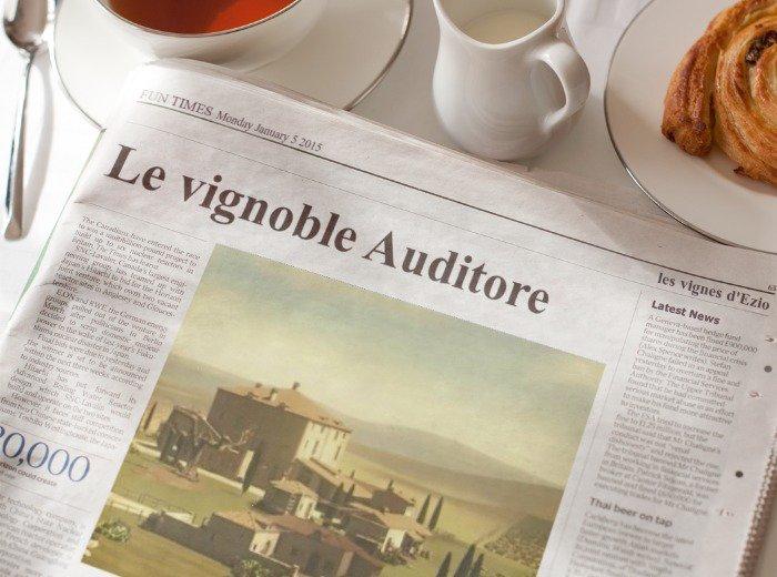 Le vignoble Auditore