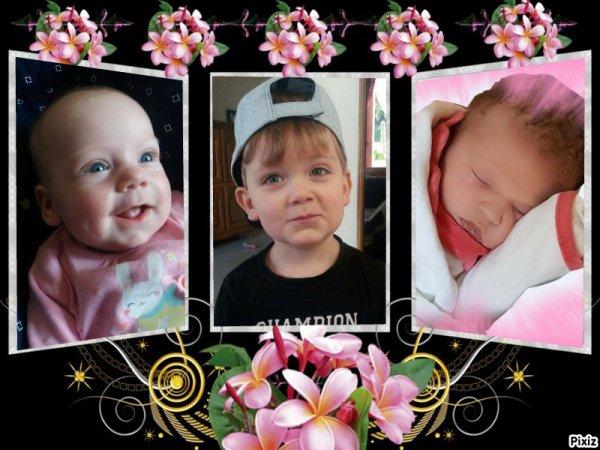 mes 3 amour linoa soan emilie