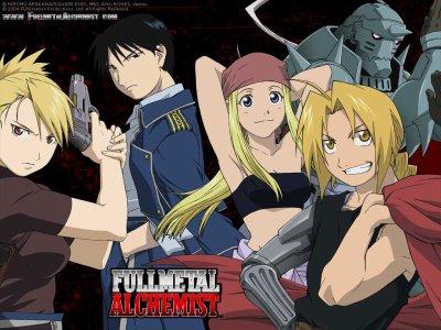 FullMetal Alchemist, première anime
