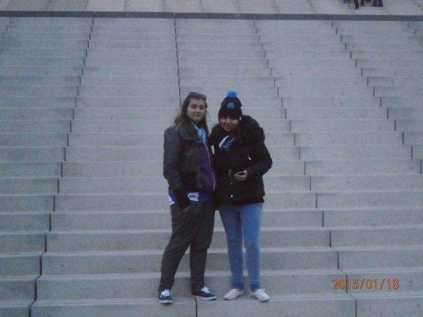à Marseille avec la fraté :D