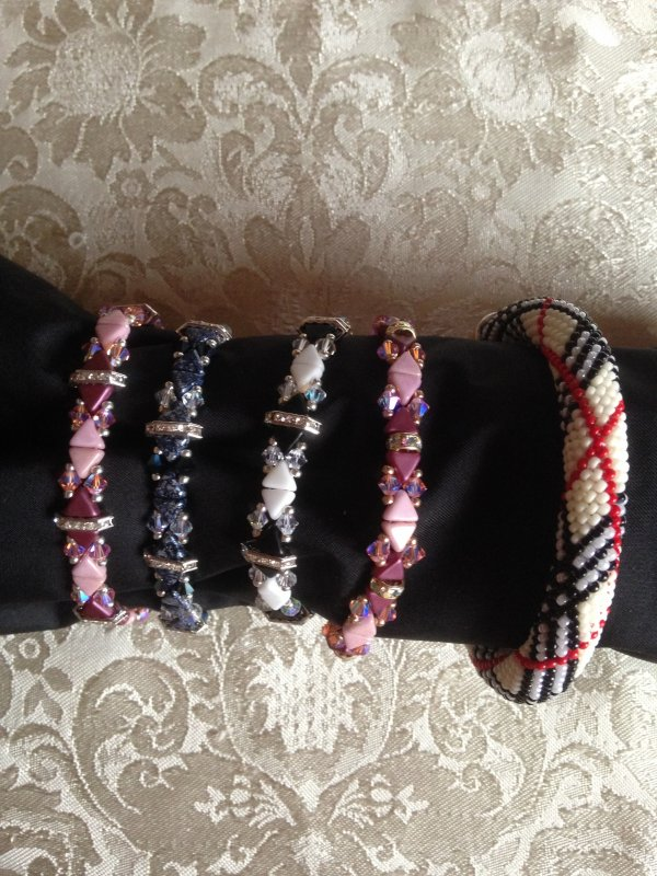 Bracelet Camille et Burberry
