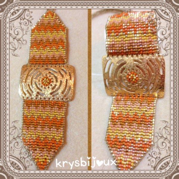 N° 32/34  bracelet façon Mischky