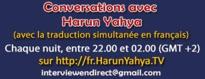 emission harun yahya , avec traduction simultanée en francais