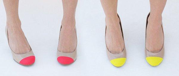DIY - Customisation - Les chaussures néon !