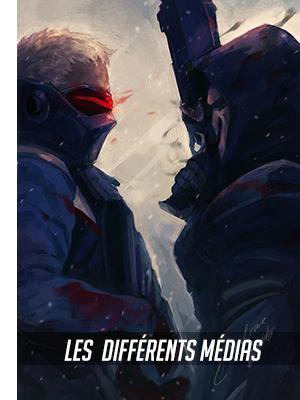 Les différents médias officiel d'Overwatch