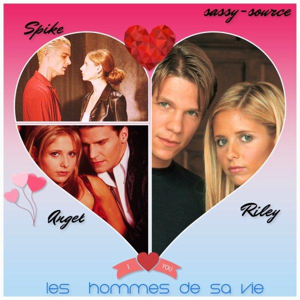 les hommes de la vie de Buffy
