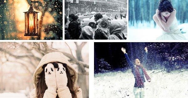 ☜ Qu'est-ce que la neige ? Un peu de froid, beaucoup d'enfance ☞