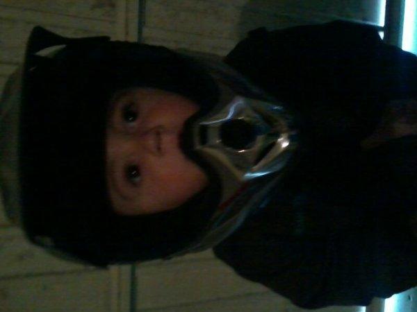 Mon loulou avec le casque