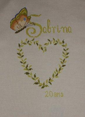 Anniversaire Sabrina