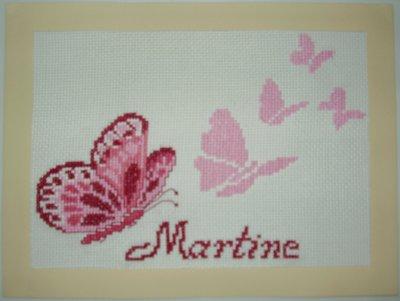 Concours pour l'anniversaire de Martine