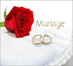 Je me marie!!!