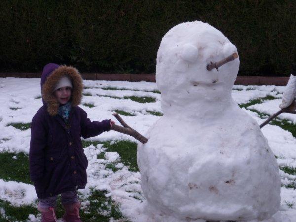 Bonhomme de neige 2013
