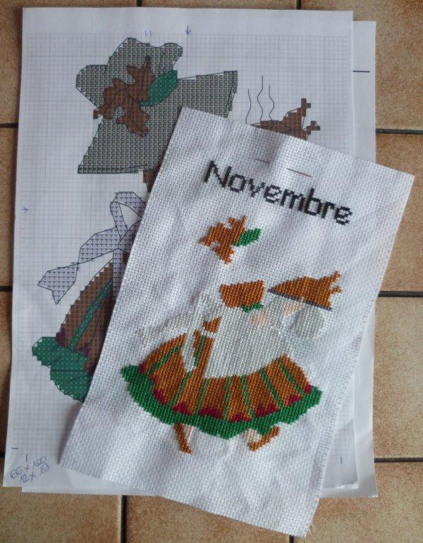Sunbonnets Novembre