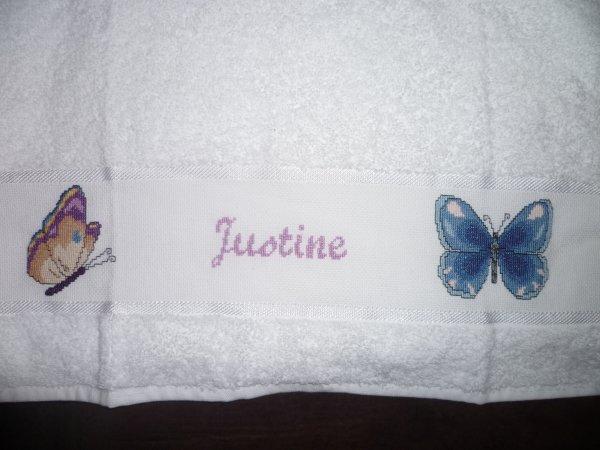Serviette Justine