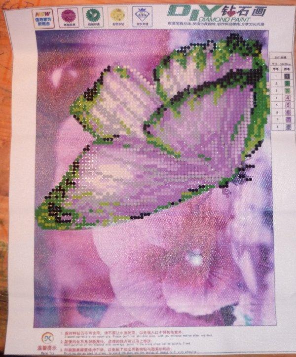 Diamants papillon